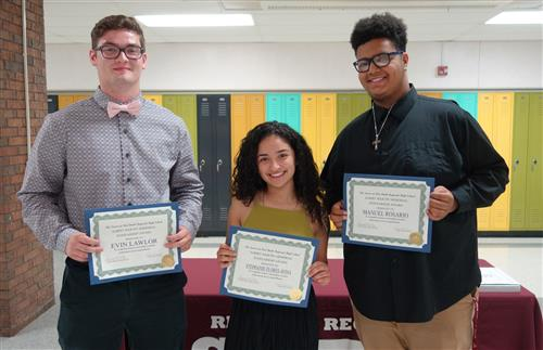 Albert Memorial Scholarship winners