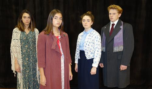 RBR Theatre presents the Diary of Anne Frank on Nov 29 through Dec 2.