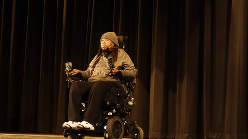 Eric LeGrand visited RBR