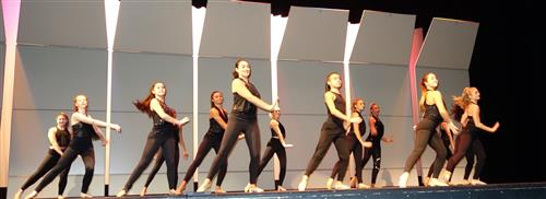 RBR dancers perform at Hispanic Heritage Month assembly