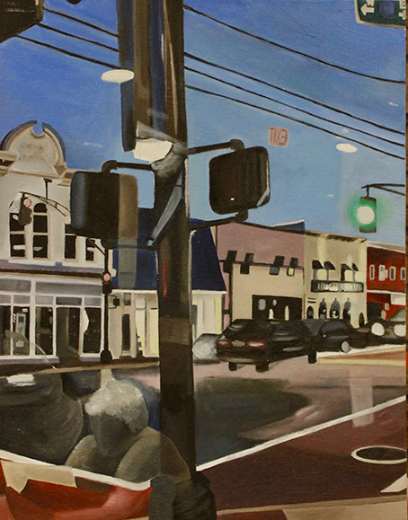 ) Corner of Red Bank by Sophie Navarro