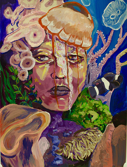 Jellyfish Lady by -Morgan Sluka;