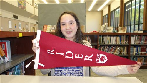 ) Alyssa Conti  received an acceptance on Instant Decision Day to Rider University along with their Presidential Scholarship.