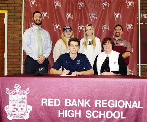 Jack Povey, RBR's star pitcher has signed to play with Villanova next year.