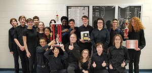 RBR Jazz Band students took first place at the Liberty Jazz Festival