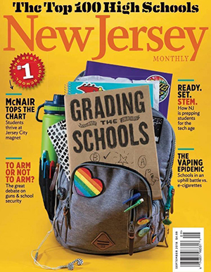 In its 2018 issue on top high schools, N.J. Monthly ranks RBR as the 39th best high school in the State of NJ.