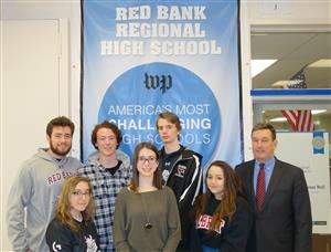 RBR Hannah Gazdus Named National Merit Scholar Finalist 	Five other Students Recognized
