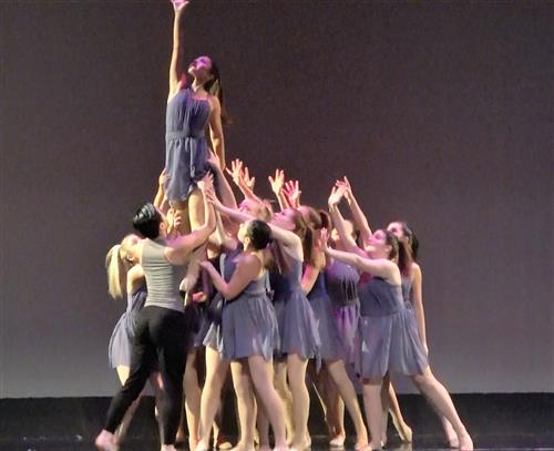 RBR dance majors present their Spring Dance Extravaganza on Friday, May 31 at 7 pm at the Joseph A. Rusoo III Theatre.