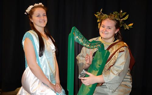 RBR opera stars Jenna Smith,  and Ashleigh Dannielle Wolf