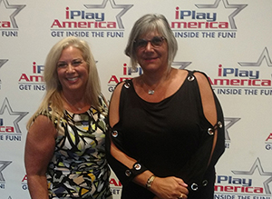 RBR Principal Risa Clay is pictured with her schools Education Association President Mary Karlo