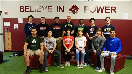 RBR athletes commit to their sport in college