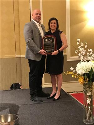 Christina Emrich - ATSNJ Hall of Fame Induction