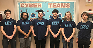 Team Dark Red finished the CyberPatriotXI competition taking second place in NJ.