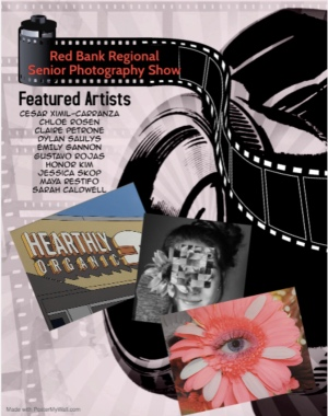 RBRHS photography majors exhibit set to go online this weekend.