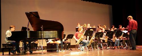 The jazz band performed at RBR's Black History Month celebration