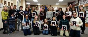 RBR's Academic Varsity Letter Recipients