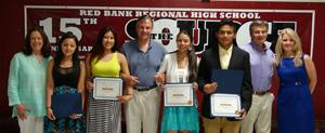 RBR 2015 Andrew Kroon Memorial Scholarship Winners