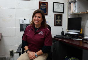 RBR Athletic Trainer, Christina Emrich, was selected as RBR's 2016 Educational Professional