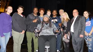 Eric LeGrand recently visited RBR