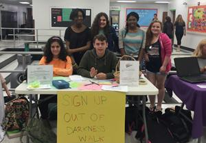 TOP students invite their peers to walk for suicide awareness
