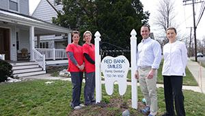 The team at Red Bank Smiles Dental Office