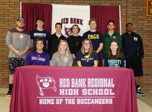 RBR's student athletes to play their sport in college next year