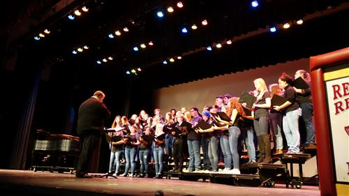 RBR Chorus performed modern and historic spiritual songs