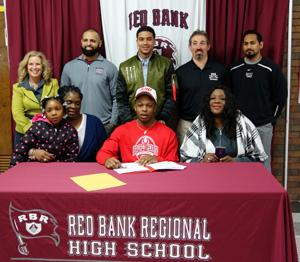 RBR Football Captain Chris Outterbridge signs to play for Sacred Heart Univeristy