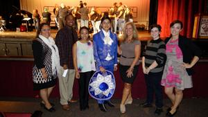 The RBR staff and students who organized and presented the Hispanic Heritage Program