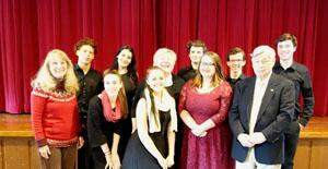 RBR VPA students Perform for Hometown Seniors
