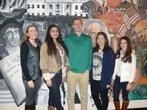 are RBR students who held leadership positions in the 2015 Model UN Conference