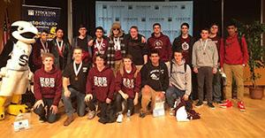 RBR sent six teams and 17 students to the only computer coding competition this year at Stockton